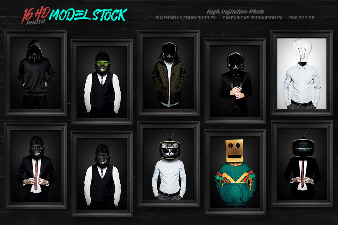 The Phenomenal Flyer Templates & Model Stock Bundle-Templates-Artixty