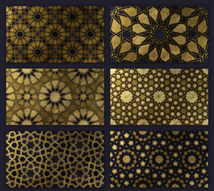 200 Islamic Ornaments Design Collection-Graphics-Artixty