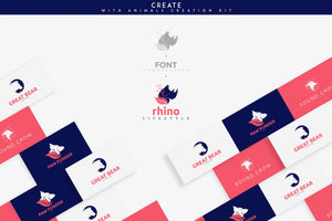 Animal Creation Kit For Photoshop And Illustrator-Templates-Artixty
