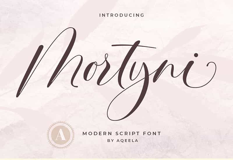 Decorative Script Font Bundle - 40 Exclusive Fonts-Fonts-Artixty