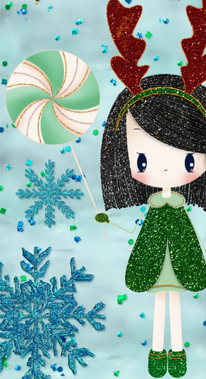 Sparkly Christmas Creative Bundle-Graphics-Artixty