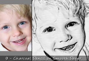25 Realistic Charcoal Drawing & Sketching Effects-Add-Ons-Artixty
