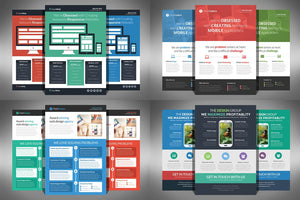40+ Impressive Flyers Design Template Bundle-Templates-Artixty