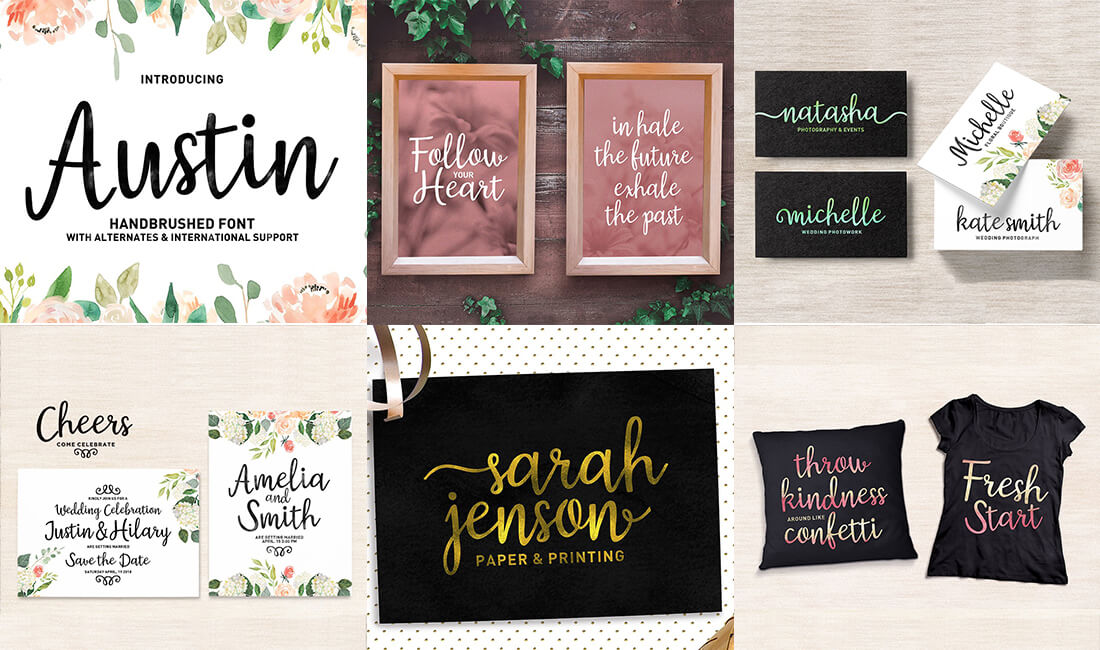 The Professional Font Mini Bundle - 24 Amazing Fonts-Fonts-Artixty