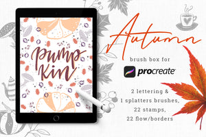 Procreate Stamps & Brushes Bundle-Add-Ons-Artixty