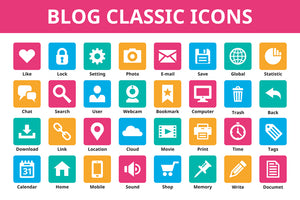 The Mega Bundle Of 300+ Vector Icons-Graphics-Artixty