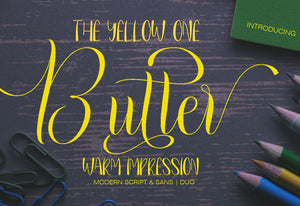 The Contemporary Font Bundle - 10 Modern Script Fonts-Fonts-Artixty
