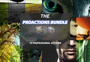 The Pro Actions Bundle - 72 Premium Photoshop Actions-Add-Ons-Artixty