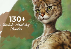 The 130+ Realistic Photoshop Brushes Bundle-Add-Ons-Artixty
