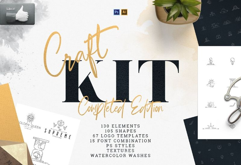 Craft Kit - The Complete Edition By VP Creative-Templates-Artixty