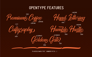 Freebie: The Golden Gate Font-Freebies-Artixty