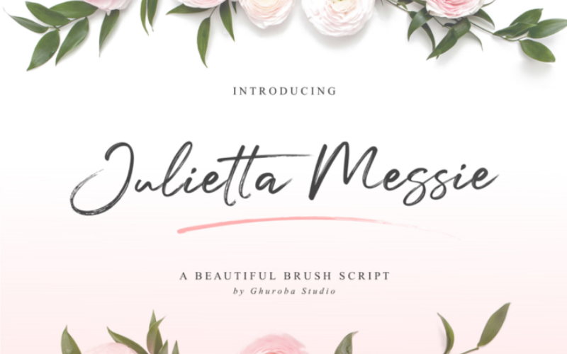 Freebie: Julietta Messie Font-Freebies-Artixty