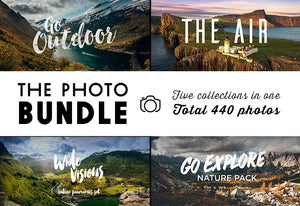 The Big Bundle Of 440 Amazing Photographs-Graphics-Artixty