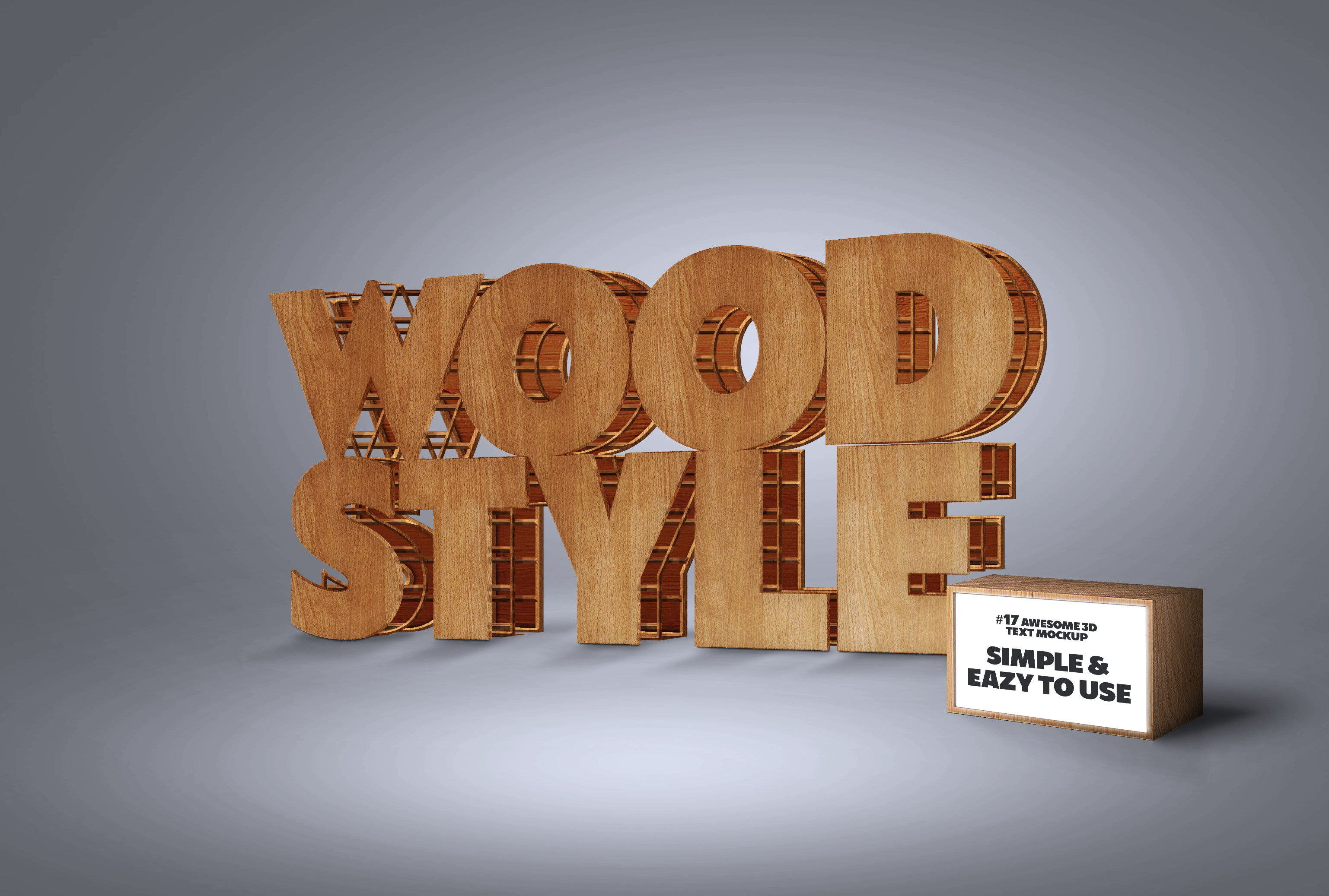 Awesome 3D Text Mockup Mega Bundle-Templates-Artixty