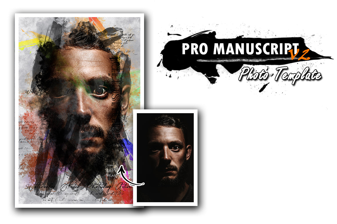 Fantastic Art Photoshop Templates Bundle-Add-Ons-Artixty