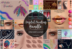Massive Photoshop & Illustrator Swatches Bundle-Add-Ons-Artixty