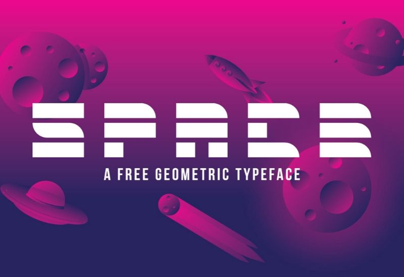 Freebie: Space Font-Freebies-Artixty