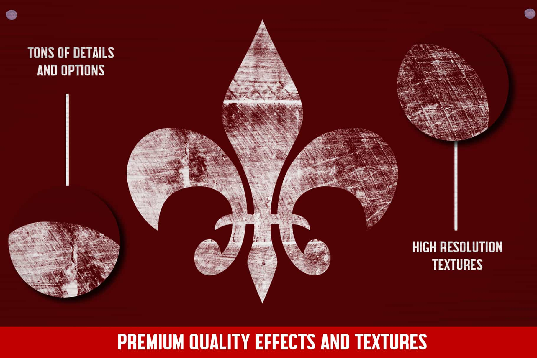The Essential Texture Kit - 300+ Texture Effects-Graphics-Artixty