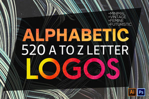 1400 Logos Mega Bundle Pack-Templates-Artixty