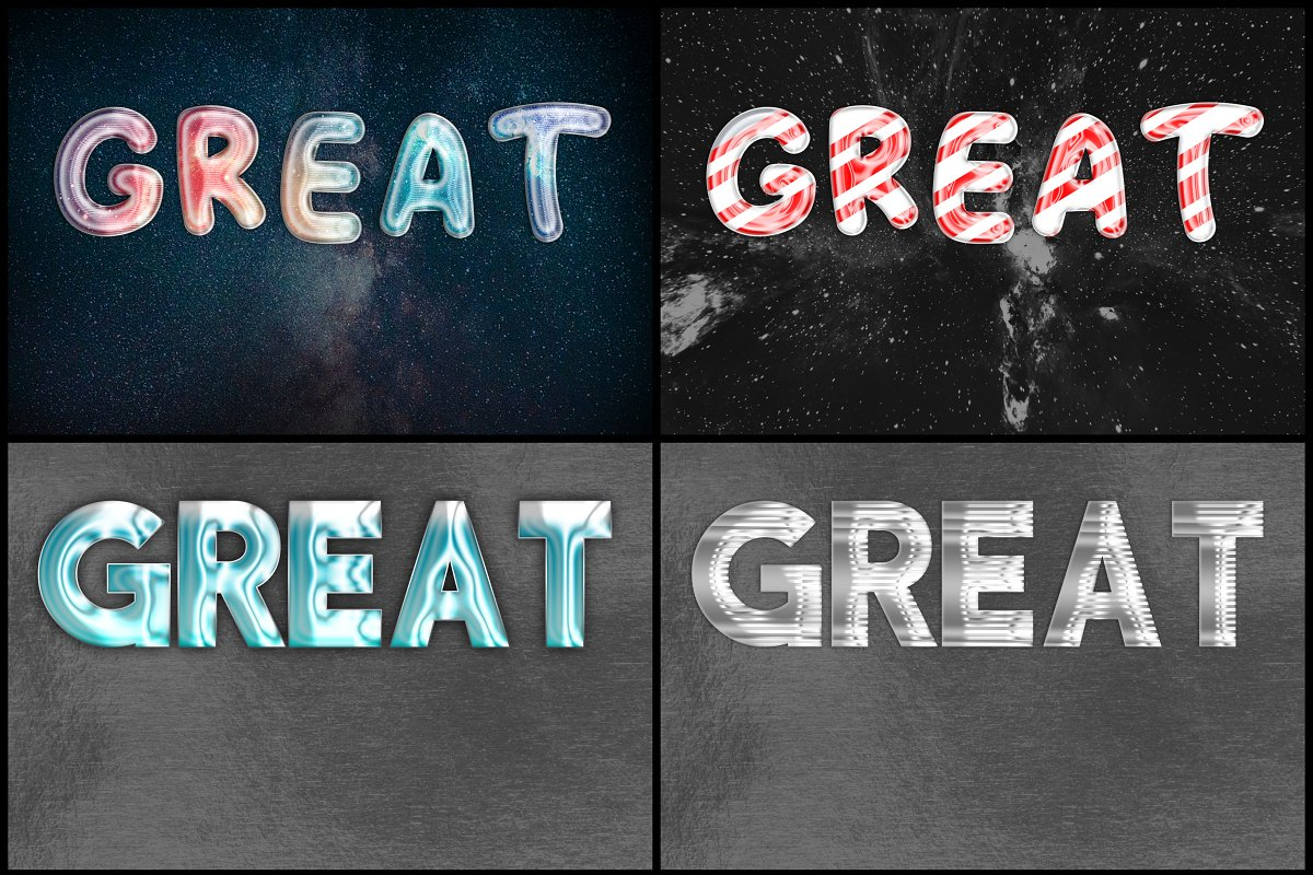 105 Professional Text Effects Mega Bundle-Fonts-Artixty