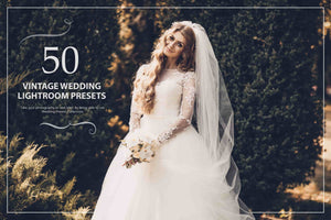 1000+ Glamorous Wedding Lightroom Presets Bundle-Add-Ons-Artixty
