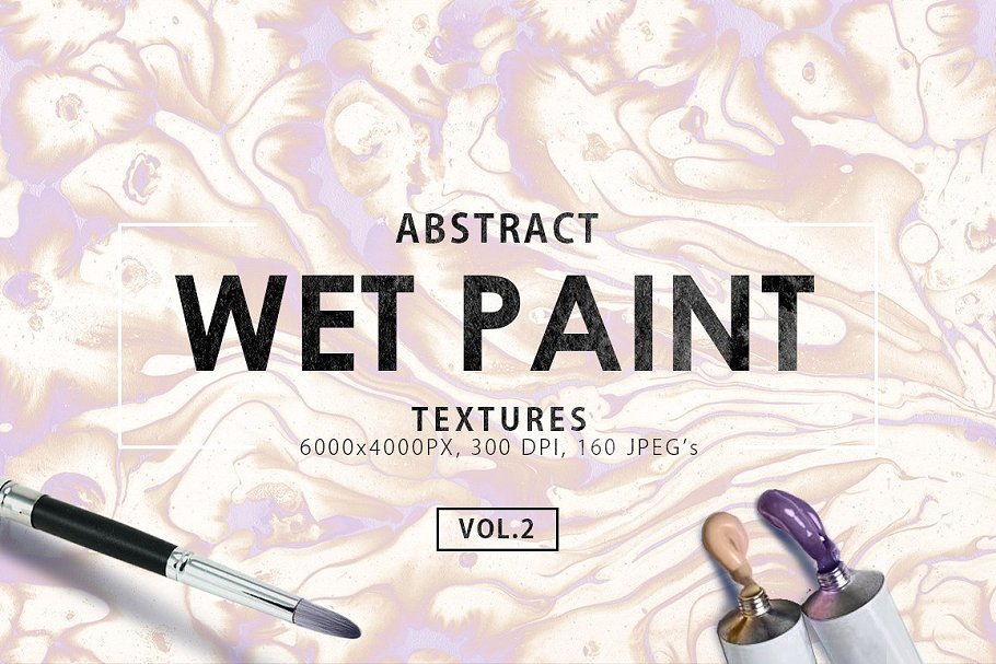 The Only Paint Backgrounds And Texture Bundle-Graphics-Artixty