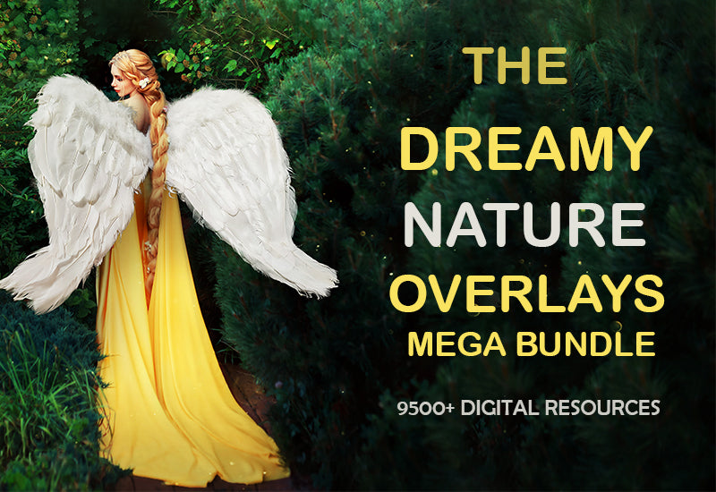 The Dreamy Nature Overlays Bundle - 9500+ Resources-Graphics-Artixty
