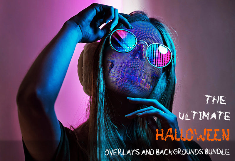 The Ultimate Halloween Overlays and Backgrounds Bundle-Graphics-Artixty