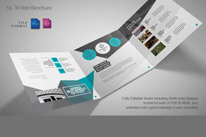 Entire Shop Presentation & Print Bundle - 230+ Elements-Templates-Artixty