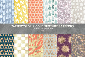 The Super Bundle of 168 Eclectic Textures & Patterns-Graphics-Artixty