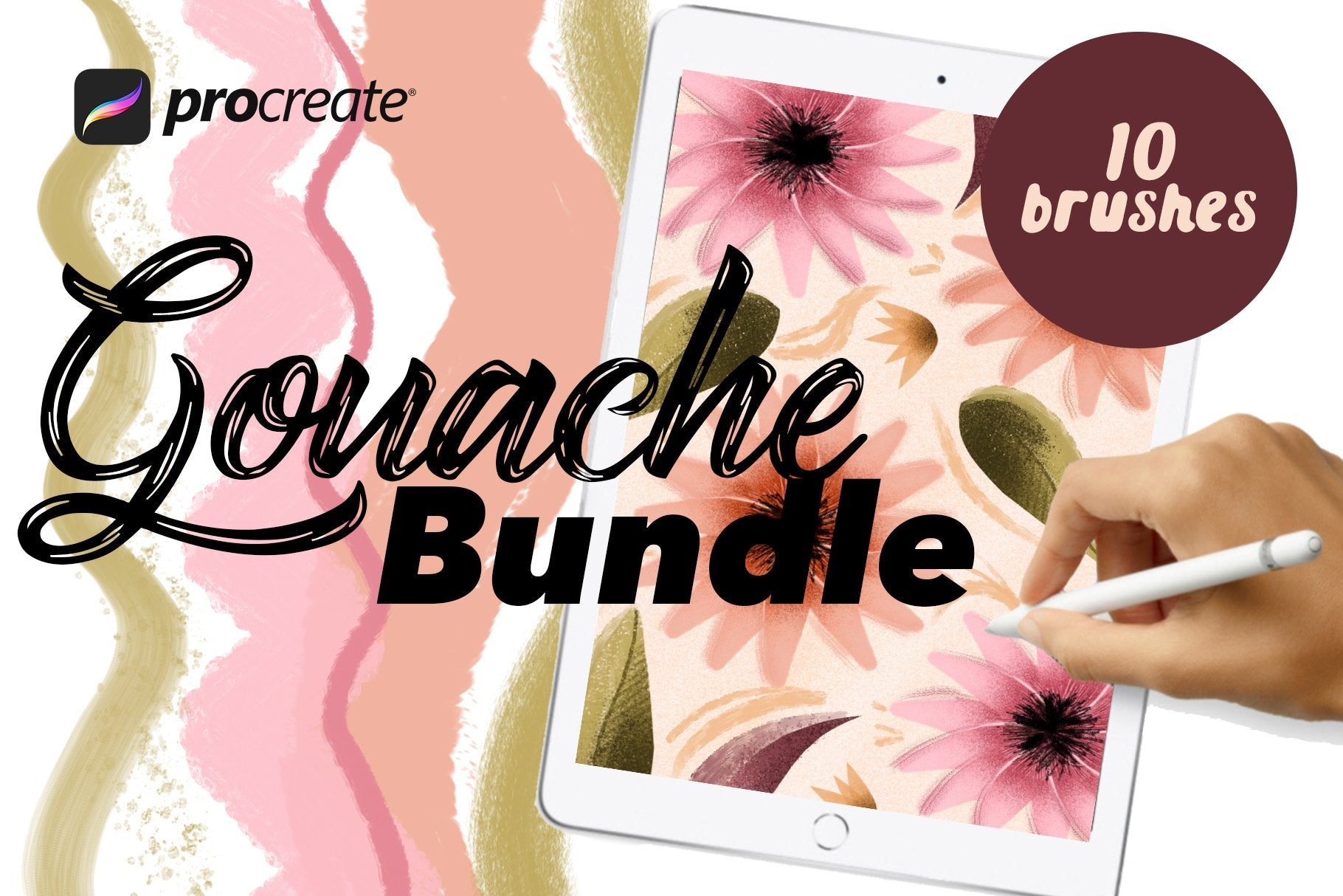 The Big Brush Bundle For Procreate-Add-Ons-Artixty