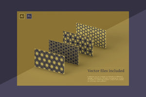 The Luxury Patterns Bundle - 250 Geometric Backgrounds-Graphics-Artixty