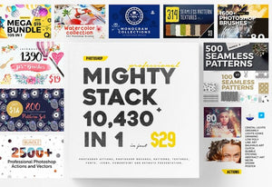 10,430-In-1 Mighty Stack Design Bundle-Add-Ons-Artixty