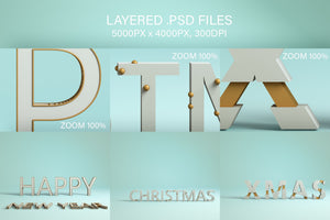 The Christmas Bundle - 1200+ Festive Resources-Graphics-Artixty