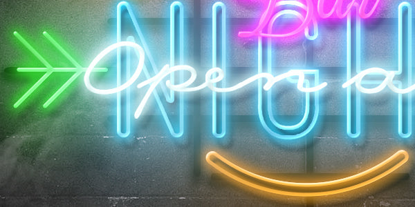 Freebie: Neon Text Mockup-Freebies-Artixty