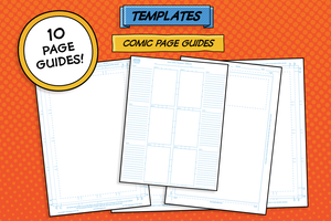 The Professional Comic Maker Toolkit-Templates-Artixty