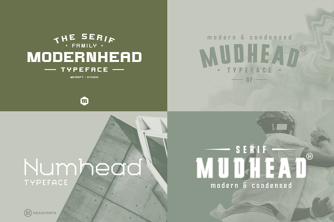 Modern Font Bundle - 26 Contemporary Fonts-Fonts-Artixty