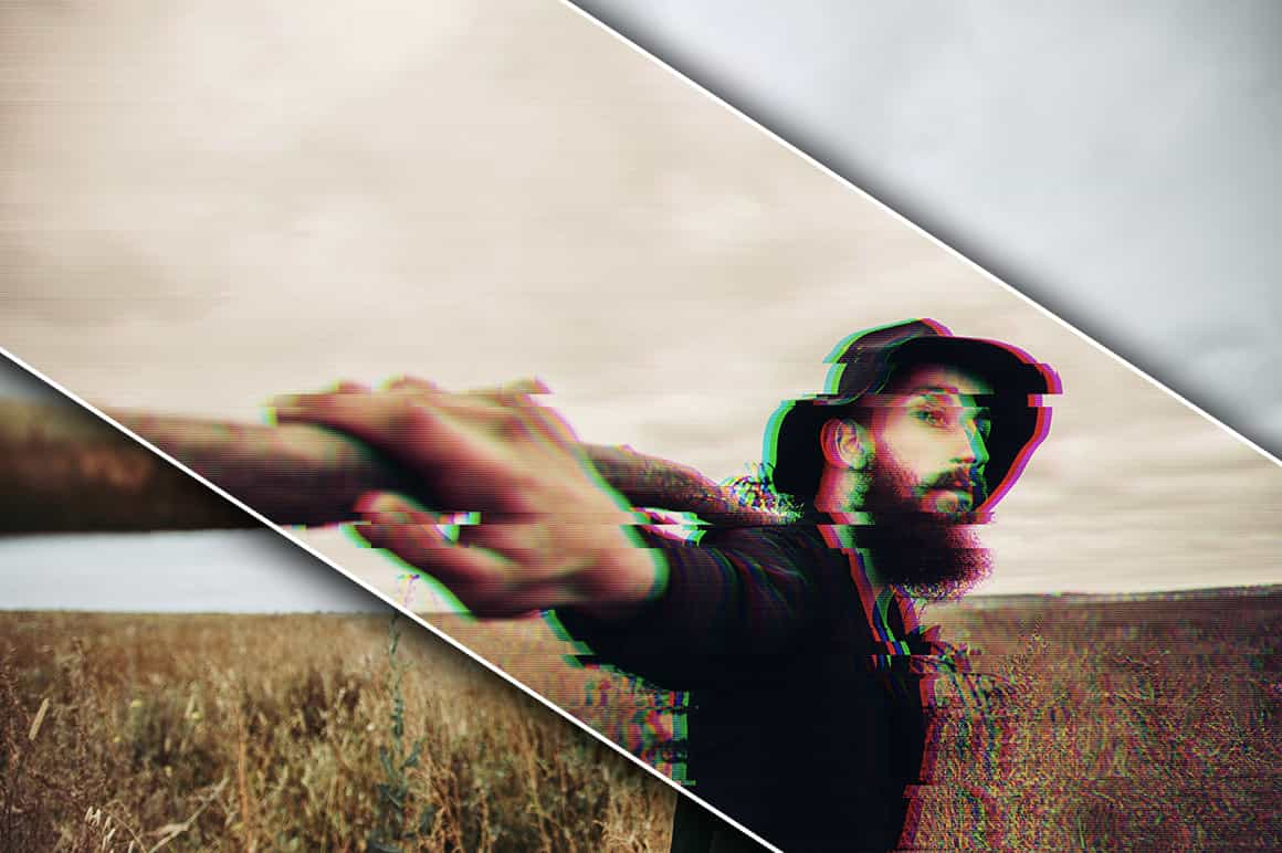 6-In-1 Glitch Photoshop Actions Bundle-Add-Ons-Artixty