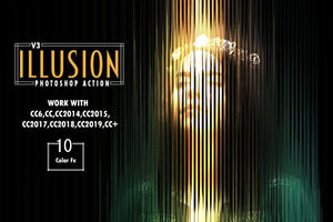 7-In-1 Illusionist Photoshop Action Bundle-Add-Ons-Artixty