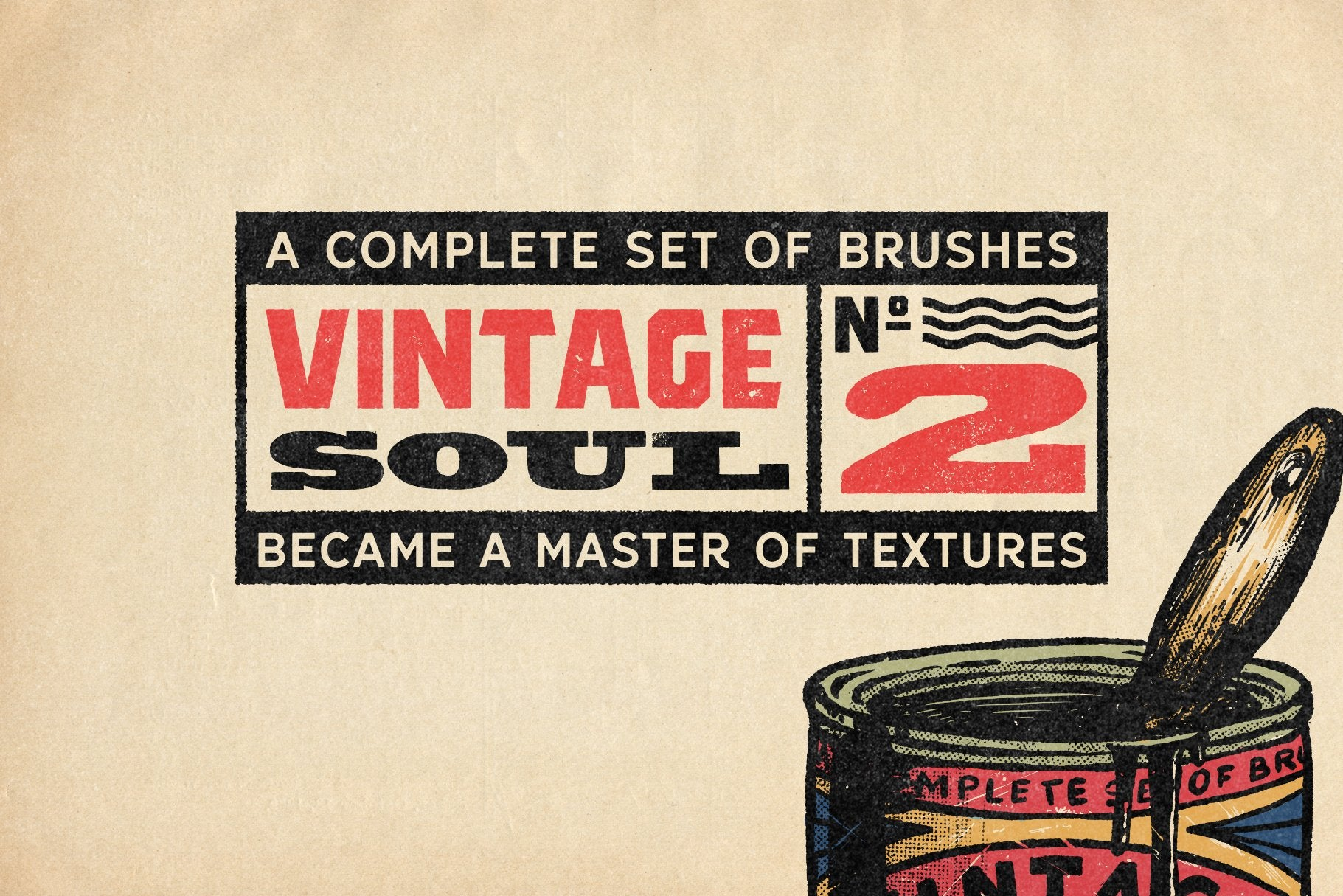 Vintage Soul Brushes For Procreate-Add-Ons-Artixty