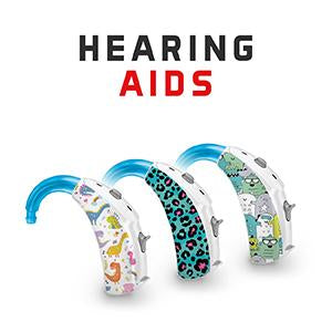 Hearoes skins for Hearing Aids