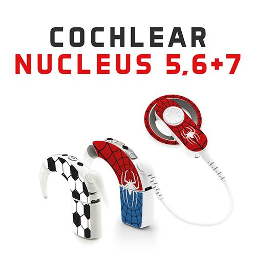 Hearoes skins for Cochlear Implants