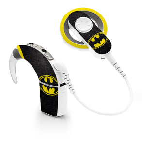Batman skin for Cochlear Implant, Advanced Bionics