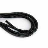 black cable twist for cochlear implants and hearing aids