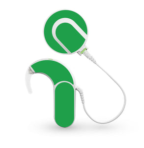 Green skin for Med-El Sonnet and Sonnet 2 Cochlear Implants