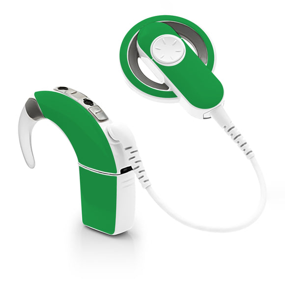 Green skin for Cochlear Implant, Advanced Bionics