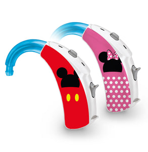 Mr and Mrs Mouse skin for Hearing Aid