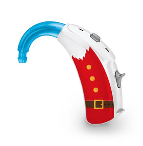 Santa Claus skin for Hearing Aid