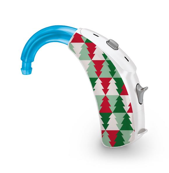 Christmas Trees skin for Hearing Aid
