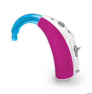 Hot Pink skin for Hearing Aid